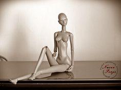Ana - my BJD, she has 33,5 cm/ 13 inch.