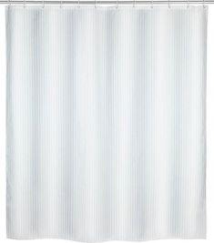WENKO Duschvorhang 180 x 200 cm inkl Wanne Dusche Duschvorhangringe Vorhang f