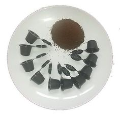A plate of Coffee Pods