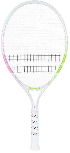 """NEW Babolat B-Fly Junior 23"""" Tennis Racquet.   This 23"""" racquet is ideal for young players between 7-9 years of age. Good for the small junior just starting out.  $35.00 Tennis Racket, Age"""