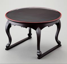 Korean traditional portable Dining Table with doggy Legs