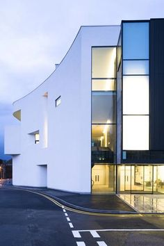 Exemplary project - Towner Gallery designed by Rick Mather Architects - folio