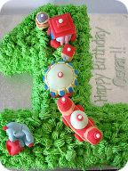 In the Night Garden Birthday Cake Manchester