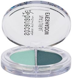 #Benecos Duo Eyeshadow Ocean contains two gorgeous shades of green reminiscent of the ocean. Use the lighter shade for highlighting and the darker shade for defining and shaping the eye area. Natural powders combined with organic oils and natural pigments is the basis of this silky soft metallic pressed powder eyeshadow making the eyeshadow easy to apply and blend. BDIH Certified Natural. Vegan.