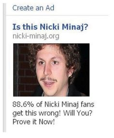 Is this Nicki Minaj? of Nicki Minaj fans get this wrong? Prove it Now! Fb Memes, Funny Memes, Hilarious, Jokes, Funny Pics, Micheal Cera, Michael Cera Meme, Humor, Haha