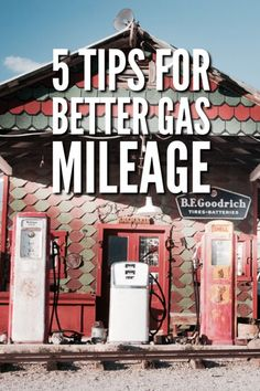 5 Tips for Better Gas Mileage to keep you smooth sailing on the highway this summer and save some $$$