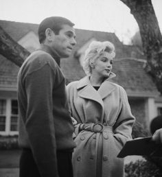Marilyn Monroe with Milton Greene