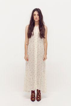 I love me a good prairie dress. Elkin s/s 2012