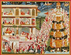 indian miniature painting mewar - Google Search