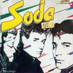 Soda Stereo - Soda Stereo (Disco) Soda Stereo, Rock Album Covers, Music Album Covers, Film Music Books, Art Music, Rock Vintage, Rock Band Posters, Rock Argentino, Rock Cover