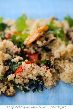 Cous cous con verdure grigliate ricetta facile vickyart arte in cucina