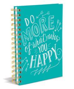 Look at this #zulilyfind! 'Do More' Hardcover Journal #zulilyfinds