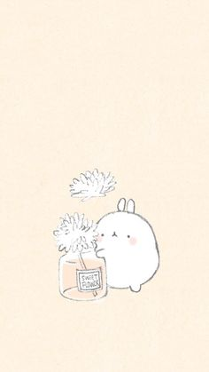 Kill time or waste time is the same Cute Pastel Wallpaper, Soft Wallpaper, Kawaii Wallpaper, Cute Wallpaper Backgrounds, Wallpaper Iphone Cute, Wallpapers Kawaii, Simple Wallpapers, Cute Cartoon Wallpapers, Pretty Wallpapers