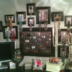 My wall of jewels
