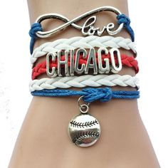 Now available to purchase!: FREE Chicago Brac... Check it out here! http://jerseychamps.com/products/free-chicago-bracelet?utm_campaign=social_autopilot&utm_source=pin&utm_medium=pin