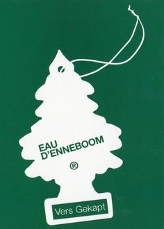 Eau Dennenboom Boomerang cards
