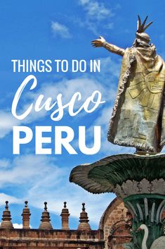 Cusco, Peru is one of South America's hidden gems, and it's much more than just a stop while traveling to Machu Picchu. Click through to learn more about the top things to do in Cusco, Peru!   cusco peru photography   things to do in cusco   food in cusco     cusco market   cusco hotels   peru travel   peru photography