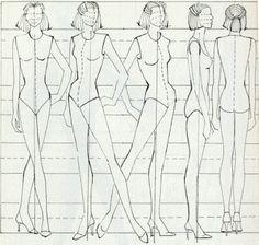 female template for fashion design - Google Search