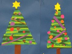 Hobbies And Crafts, Diy And Crafts, Crafts For Kids, Arts And Crafts, Paper Crafts, Projects For Kids, Art Projects, Christmas Art, Christmas Decorations