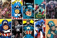 captain america comic - Google Search