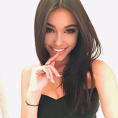 (FC Madison Beer) My name is Madison and I'm 18 and single. I was originally from New York but moved to Italy when I was really young. I'm what you call a good girl who never gets in trouble. I like to sing,play piano,and read. Intro?