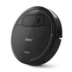 ECOVACS Robotic Vacuum Cleaner with Mop and Water Tank - Automatic Floor Cleaning Robot, DEEBOT N78
