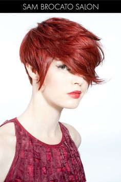 Rich Red Hair Color for Spring