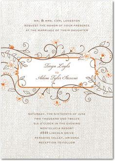 great invites by wedding paper divas