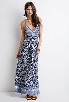Paisley Print Halter Maxi Dress | Forever 21 | #foreverfestival