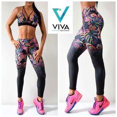 Conjuntos #Viva renueva tus outfits #estrenarmotivaentrenar agenda tu cita y visítanos. Contamos con más de 100 estampados.