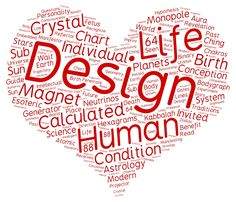 Human Design Word Cloud by Andrea Abay-Abay