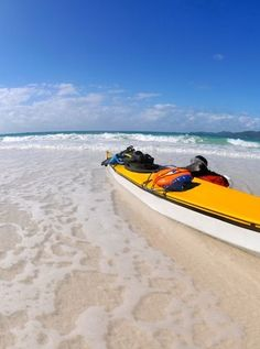 Sea-Kayaking the Whitsundays! Sport, Boating, Paddle, Kayaking, Sailing, Things To Do, Ocean, Bike, Places