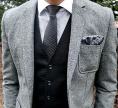 I would really love to own a three piece suit!