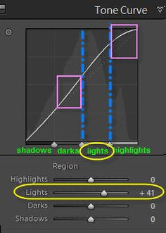 what is the tone curve in lightroom?  and lots of other great tutorials too.