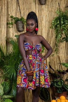 The complete collection of Exotic Ankara Gown Styles for beautiful ladies in Nigeria. These are the ideal ankara gowns Beautiful African Women, Beautiful Dark Skinned Women, African Beauty, Beautiful Black Women, African Attire, African Wear, African Dress, Ankara Styles For Women, Ankara Gown Styles