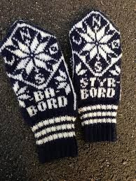 maritime knitting patterns - Google-søk Knit Mittens, Mitten Gloves, Nordic Style, Knitting Patterns, Weaving, Tapestry, Fun, Handmade, Google