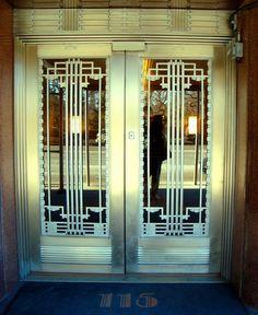 Art Deco Doors In Nyc