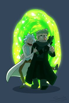 Rick Sanchez, crossover,Rick and Morty Gravity Falls,Stanford Pines Rick And Morty Image, Rick I Morty, Cartoon Shows, Cartoon Pics, Cartoon Art, Gravity Falls Secrets, Rick And Morty Crossover, Rick And Morty Poster, Ricky And Morty