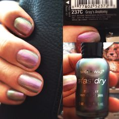 I LOVE this nail polish color. Peep the name out tho. :D