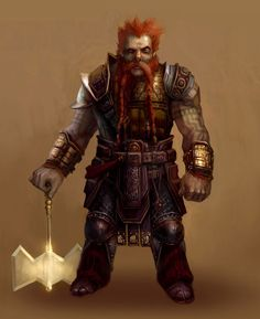 Dragon Age: Origins -  Oghren not a good pic of him but love to have him in my group when playing the game.