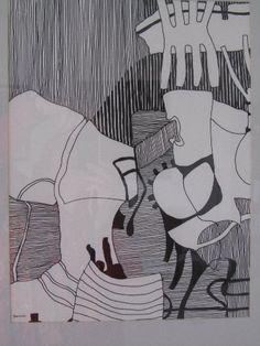 """Silently Attentive"" by Renata Bernal"