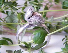 925 Sterling Silver Bunny/Rabbit/Hare Ring