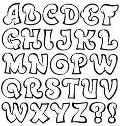 Resultado de imagen para moldes de letras para imprimir