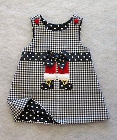 Take a look at this Katie Bug Casuals Black & White Shepherd's Check Santa Legs Jumper - Toddler on zulily today! Little Dresses, Little Girl Dresses, Girls Dresses, Toddler Dress, Toddler Outfits, Kids Outfits, Sewing For Kids, Baby Sewing, Baby Dress Patterns