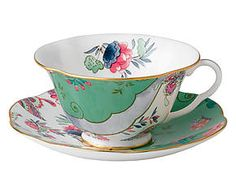Tasse butterfly bloom i porcelaine de chine, multicolore - 180 ml