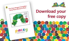 Spotlight on the Very Hungry Caterpillar Infant Activities, Preschool Activities, Caterpillar Pictures, The Very Hungry Caterpillar Activities, Story Sack, Messy Play, Eric Carle, Picture Books, Pretend Play
