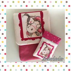 Pochette Ipad Mini et son porte Monnaie avec un coupon personnalisé à la demande