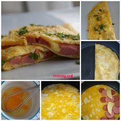 omlet böreği nasıl yapılır