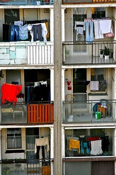laundry day in trnava Dryers, Clothes Line, Laundry, Urban, Happy, Laundry Room, Clothes Dryer, Happiness, Laundry Rooms