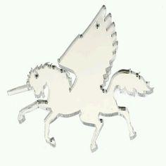 Pegasus/Winged Unicorn Pendant. £5.00, via Etsy.